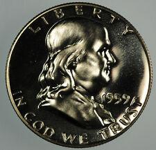 1959 Franklin Half Dollar in Proof condition.