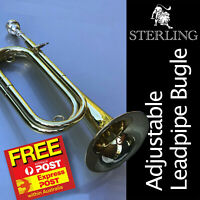 STERLING SWBG-135 Bugle • F# • Adjustable Leadpipe  • Brand New • Free Express •