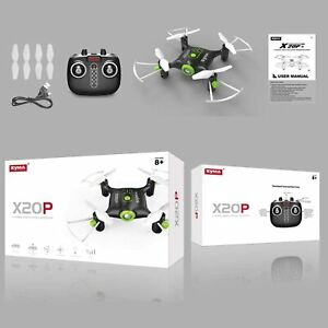 syma X20P 2.4G 6-Axis Mini RC Drones Smart Aircraft for Kids Flying Toys