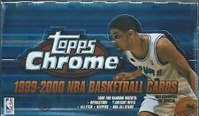 TOPPS CHROME 1999-00 NBA BASKETBALL SEALED BOX #1