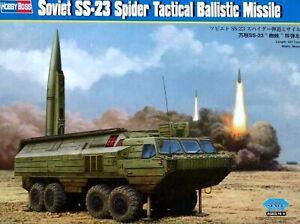 Hobbyboss 1:35 Soviet SS-23 Spider Tactical Ballistic Missile Vehicle Model Kit