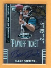 2014 Contenders Playoff Ticket Blake Bortles Autograph Rookie /99 Jaguars RC