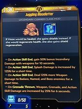 Xbox 1 Borderlands 3 Modded Moze Blood Letter Class mod 48 hour sale