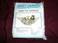 Jumbo toy hammock ~  New in package ~  White ~ Expands to 5.5 ' ~