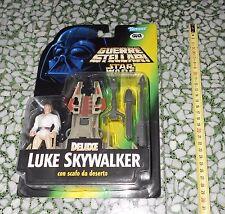 Star Wars Italian GIG Action Figure Deluxe LUKE SKYWALKER Card-RARE 1996 KENNER