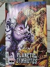 KING IN BLACK PLANET OF THE SYMBIOTES 1 MARVEL 1:25 NAUCK VARIANT KNULL NM/NM+