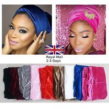 Quality Ladies Women Double Velvet Turban head wrap Indian Cap Headband Warm