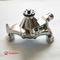 LONG WATER PUMP BIG BLOCK CHEVY POLISHED ALUMINUM