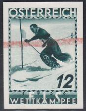 Österreich 1936 FIS Nr. 623 Probedruck Sondergebot KE 200 €