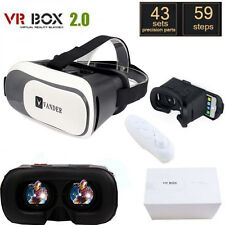 Virtual Reality VR BOX Goggles VR Headset 3D Glasses Google Cardboard Remote