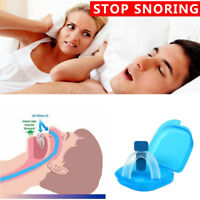 Stop Snoring Mouthpiece Apnea Aid Sleep Anti Snore Bruxism Grind MouthGuard USA