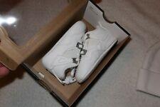 "2005 Nike air jordan 4 retro ""pure"" Toddlers Child Shoes Sz 4C 308501-102 Td Nib"