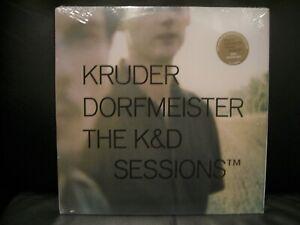KRUDER & DORFMEISTER The K&D SESSIONS 5 LP VINYL  NEW & SEALED  RARE K7