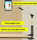 Bed Tablet Stand Mount Long Arm Universal Rotating Desktop Table Holder Flexible