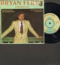 """BRYAN Brian FERRY The Price of Love EP 7"""" It's Only Love SHAME SHAME SHAME 1976"""