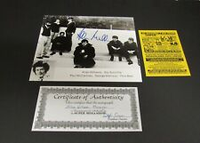 Allan Williams Beatles Road Manager Autograph 8 x 10 B/W Photo with C.O.A.