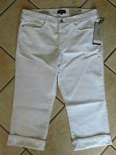 789a96e195ec1 NYDJ Not Your Daughters Jeans Mahogany Bootcut Rhinestone Pockets Size 18w.   24.99 New. Womens NYDJ Jeans Sz 16 W White Marilyn Crop Stretch Denim Pants