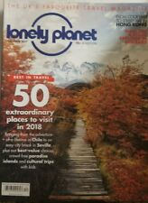 Lonely Planet Dec 2017 50 Extraordinary Places To Visit In 2018 FREE SHIPPING mc