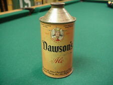 Dawson's Beer Ale Cone Top Beer Can
