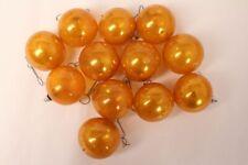 Bolas de Navidad Oro Amarillo 12er Set para Árbol Ø 5cm Muy Viejo
