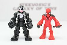 Playskool Heroes Marvel Super Hero Adventures Venom Scarlet Spiderman 2 Pack