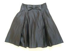 NEW Milly of New York 1950s vintage style black satin skirt Net underskirt UK 10