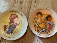 AVON Cherished Moments 1982 & 1984 Mothers Day Plate - Excellent Vintage- Love
