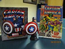 2009 Bowen Designs Classic Captain America Bust plus Cap Am # 130 comic