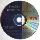 APC PowerChute Personal Ed Software CD Windows 98/Me/2000/2003/XP & Mac OSX 10.2