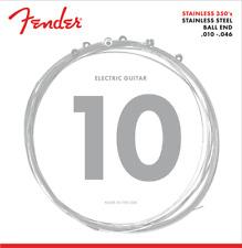 Fender Stainless Steel 350R Electric Guitar Strings 10-46