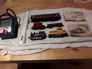 Vintage Marklin Transformer and wagon bundle x 8 pieces