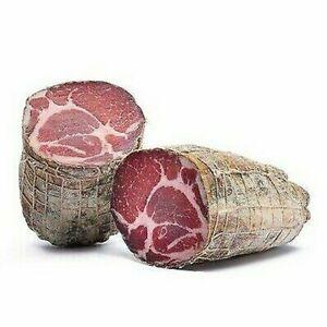 500 Gr Capocollo De Faeto - Capocollo Pugliese de Alta Calidad - Salami