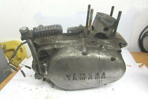 1973 YAMAHA RT3 ENGINE BOTTOM END CRANKSHAFT CRANKCASES TRANSMISSION RT1-129074