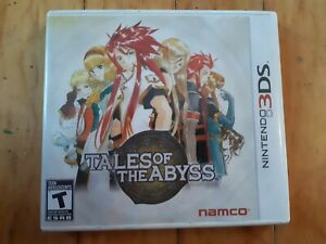 Tales of the Abyss (Nintendo 3DS, 2012) COMPLETE