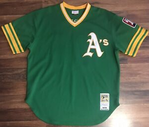 Mitchell And Ness Oakland Athletics Rollie Fingers Jersey (Size 52-XXL)