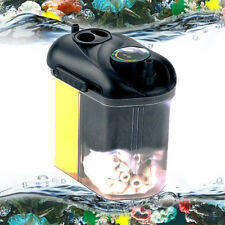 5.5W 150L/H Aquarium Fish Tank External Hang On Canister Filter Media Supplied !