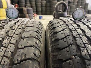 2x 255/70/R18 113S M+S Bridgestone Dueler H/T 840