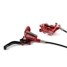 Hope Tech 3 V4 Red Right / Rear with Black Hose Brake - Brand New