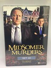 MIDSOMER MURDERS Set 22 New DVDs
