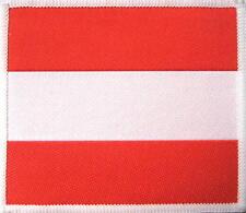 ÖSTERREICH AUSTRIA AUFNÄHER PATCH # 1 LANDESFLAGGE COUNTRYFLAG 9x8cm FLICKEN