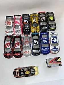 Lot Of 15 Nascar 1/64 Diecast Austin Dillion Jimmie Johnson Chevy/ford Lionel