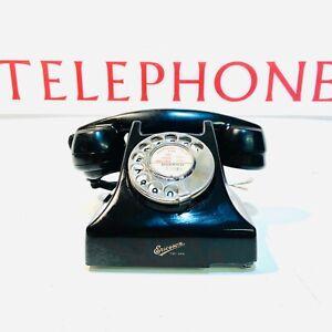 Vintage GPO Bakelite Telephone, 1950's, Ericsson England, Clean & Complete