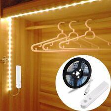 Motion Sensor Wardrobe Strip Night Light Flexible 1.5M LED Warm White Cupboard