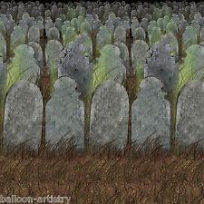 Halloween Horror Scene Setter Backdrop – Graveyard