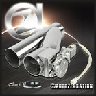 Electric Exhaust Catback/Downpipe Cutout E-Cut Out Valve System+Switch 3.0