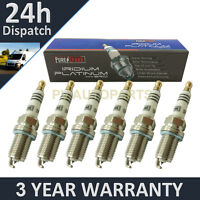 6X IRIDIUM TIP SPARK PLUGS FOR AUDI A8 3.2 FSI 2005-2007