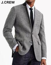 New J.CREW Ludlow herringbone tweed blazer 34S gray jacket sport coat 34 S NWT