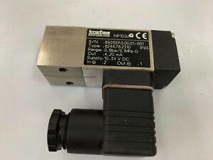 TRAFAG  8244.78.2310  Block Pressure Transmitter 0 to 10 bar Flange Mounting