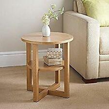 Oak Side Hallway Coffee Oak Furniture Table Lamp Plant Home Furniture