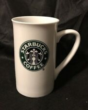 Starbucks Classic White Coffee Mug Cup Green Mermaid Logo 2006 12 oz